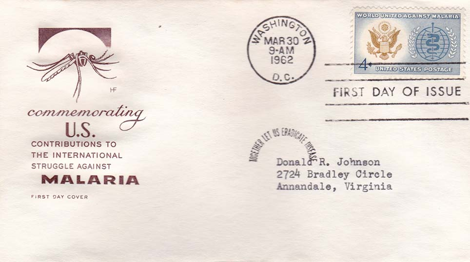 United States Scott 1194 House Of Farnam FDC Addressed to Donald R Johnson