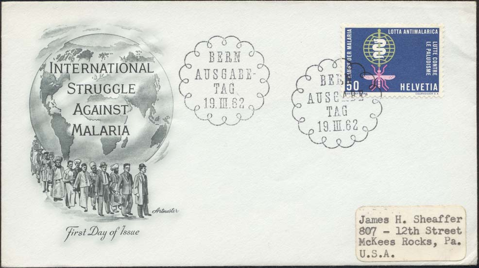 Switzerland Scott 415 FDC
