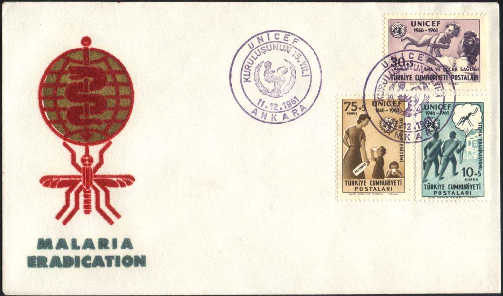 Turkey Scott B86 FDC
